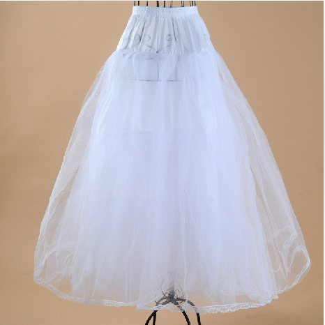 Charming Fluffy Long Gauze A-Line Wedding Petticoats